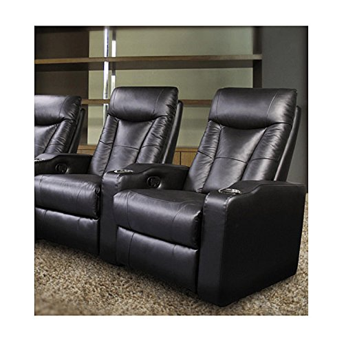 Coaster 600130 2 Pavillion Contemporary 2 Seated Theater By Coaster. By  Coaster Home Furnishings
