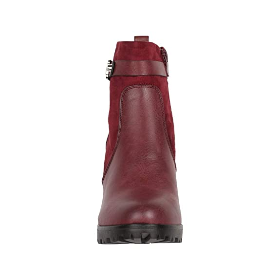 Block tac/ón Plateau chunkyr Ayan Elara Ankle Boots Botines Moderna Mujer