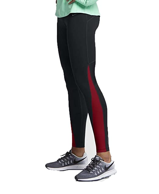 3ea3275554c5 Image Unavailable. Image not available for. Color  Nike Women s Power Dri-Fit  Running Tights Black ...