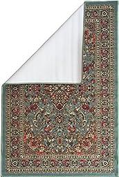 Ottomanson Ottohome Collection Persian Heriz Oriental Design with Non-Skid (Non-Slip) Rubber Backing Area Rug,5\'0\