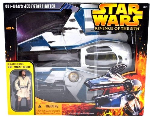 Hasbro Star Wars Revenge of the Sith Obi-Wan's Jedi Starfighter