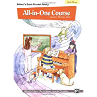 All-in-One Course for Children: Lesson, Theory, Solo, Book 3 (Alfred's Basic Piano Library) book cover