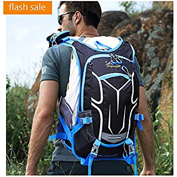 Lake Ausy,Cycling Backpack Biking Daypack Bike Rucksack Cycling Rucksack for Outdoor Sports Running Travelling Mountaineerin Hydration Back,Fit,Perfect for ...