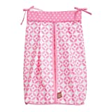 Trend Lab Diaper Stacker, Pink Lily
