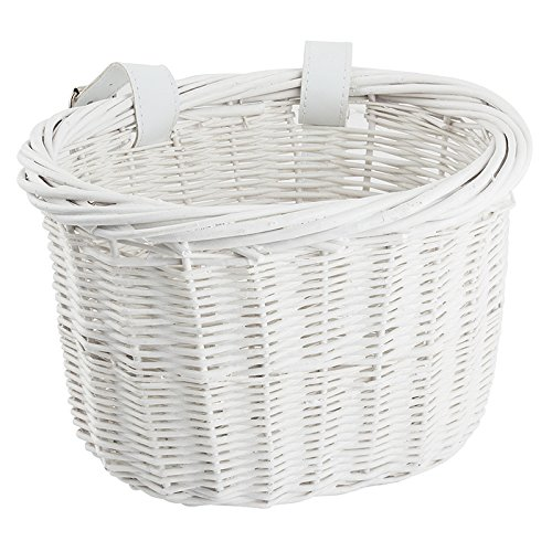 Sunlite Willow Bushel Strap-On Basket, 9.75 x 6 x 7.5