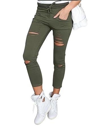 Zerrissene jeans damen gunstig
