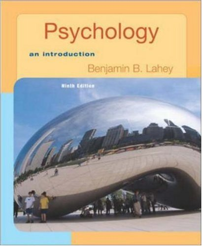 Psychology: An Introduction with In Psych Student CD-ROM and Registration Code