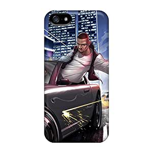 New Arrival Case Cover With KcTbUcU4534JgxHH Design For Iphone 5/5s- Gta Iv Ballad Of Gay Tony