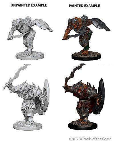 D&d Nolzur's Marvelous Unpainted: Dragonborn Male Fighter