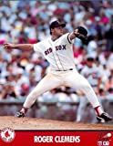 Roger Clemens Boston Red Sox 8 x 10 MLB Licensed Photo (1991) - Shipped in 8 x 10 Topload Holder