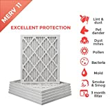 18x20x1 MERV 11 ( MPR 1000 ) Pleated AC Furnace Air Filter - 6 Pack