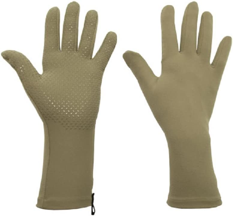 Foxgloves Grip Gloves (Moss Green, Medium)