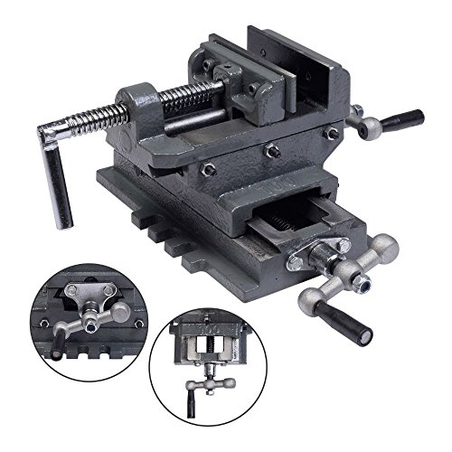 """New 4"""" Cross Drill Press Vise X-Y Clamp Machine Slide Metal Milling 2 Way HD from Unknown"""