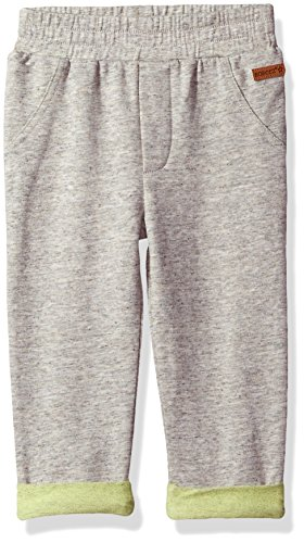 Robeez Baby Knit Pant, Heather Grey, 3 Months