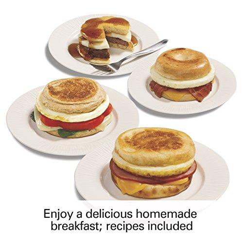 Proctor Silex 25479 Breakfast Sandwich Maker, White by Proctor Silex (Image #6)