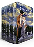 Love's First Touch Boxed Set: Five Novels Of First Love From The Past