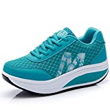 CN-Porter Women's Platform Wedges Tennis Walking Sneakers Comfortable Lightweight Fitness Shoes