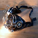 Steampunk Victorian Goggles welding Glasses 8