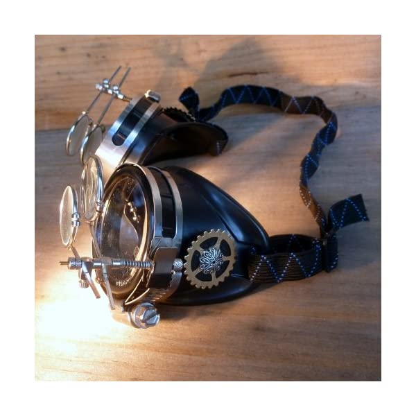 Steampunk Victorian Goggles welding Glasses 5