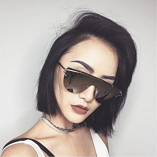 do de Sol de Calle Manera la de Gafas de Un Gafas de tamaño SLR Gafas Transparentes segundo la Femeninas Sol Las Las de 8q5HZxp