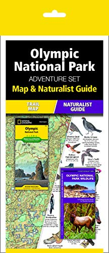Olympic National Park Adventure Set: Map & Naturalist Guide