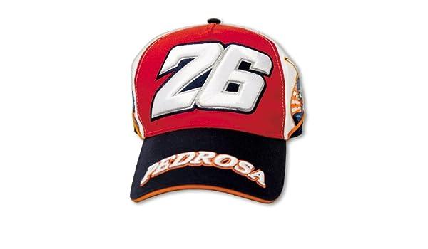 Dani Pedrosa Motogp Gorra Merchandising Oficial Rojo 26 Moto Gp ...