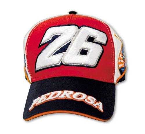 DANI PEDROSA MOTOGP BASEBALL CAP HAT OFFICIAL MERCHANDISE RED 26 MOTO GP - DPMCA76006 All Manufacturers
