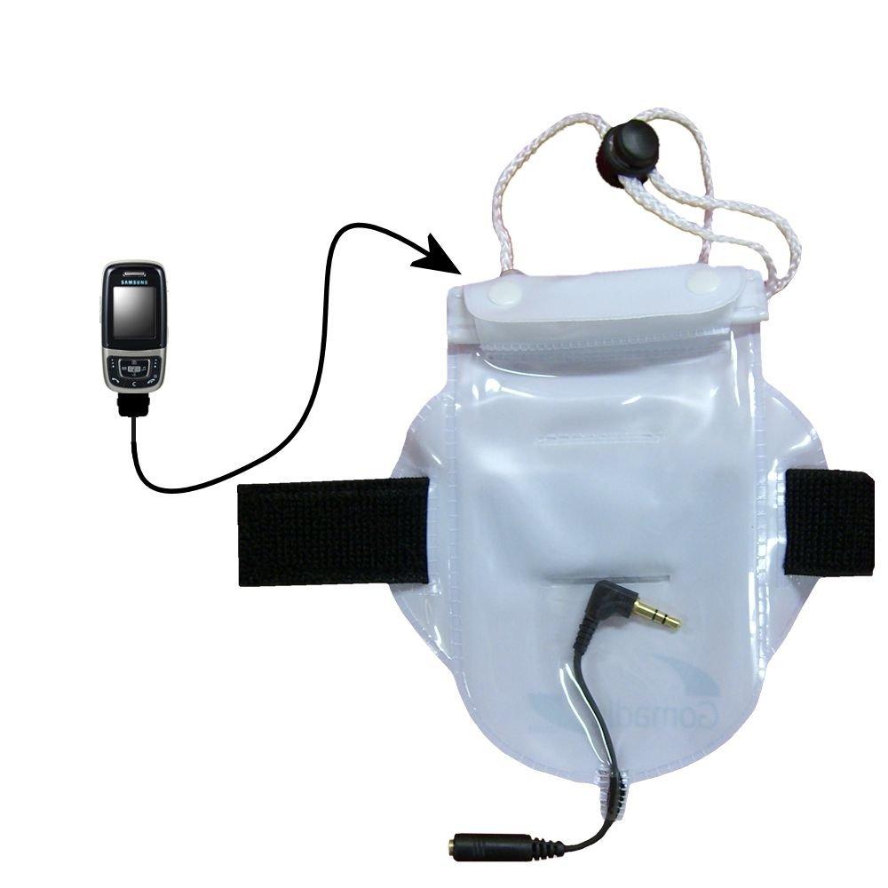 ワークアウト防水Sandproof防塵バッグアクセサリーSuitable for the Samsung sgh-e635   B000FDXUZY