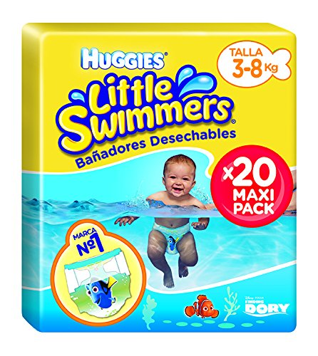 Huggies Little Swimmers- Bañadores Desechables, talla 2-3, 20 unidades product image