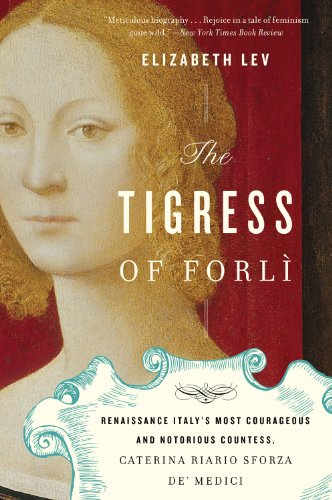 Book cover for The Tigress of Forli
