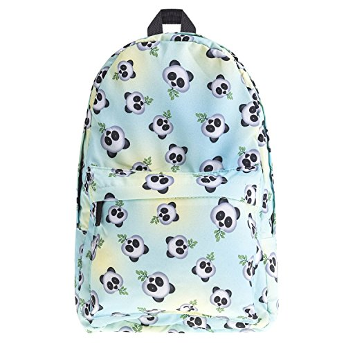 Amazon.com | CoKate Animal Print Bookbags Causal Travel Canvas Rucksack Backpacks (Panda) | Casual Daypacks