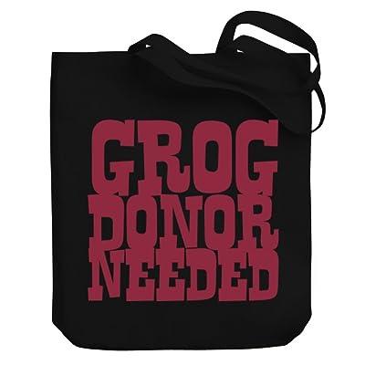 Teeburon Grog donor needed Canvas Tote Bag 85%OFF