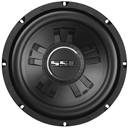 Sound Storm SSLD10 10 Inch Car Subwoofer - 800 Watts Maximum Power, Dual 4 Ohm Voice Coil, Sold Individually