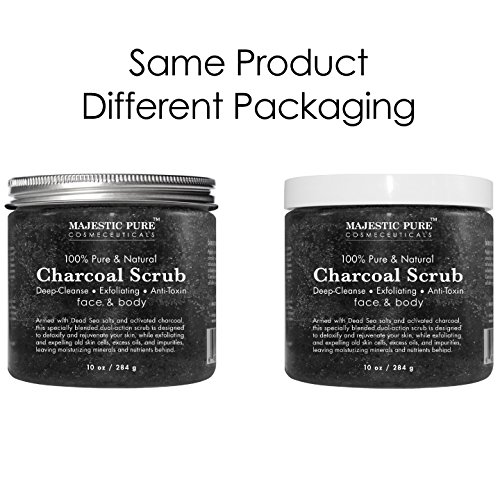 Activated-Charcoal-Body-Scrub-and-Facial-Scrub-from-Majestic-Pure-10-Oz-Natural-Skin-Care-Face-Cleanser-Promotes-Skin-Whitening-Reduces-Acne-Scars-Blackheads-and-Helps-Improve-Complexion