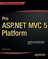 Pro ASP.NET MVC 5 Platform Front Cover