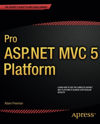 Pro ASP.NET MVC 5 Platform Pdf