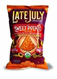 Late July Organic Snacks How Sweet Potato it is Multigrain Tortilla Chips, 5.5-Ounce (Pack of 12) by Late July Organic Snacks [Foods]