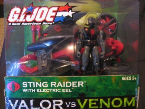 Valor Vs. Venom Sting Raider with Electric Eel (Cobra Eel)