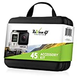 Review XP Premium Action Camera Accessory Kit - Professional Action Photography Bundle + Large Carrying Case & Assorted Strap Mounts & Tools for GoPro Hero 5 4 3 2 1 SJ4000 SJ5000 SJ6000