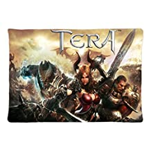 Games Poster Tera Online Games Pattern Sofa Simple Home Decor Throw Pillow Case Cushion Cover