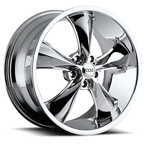 Foose F105 Legend 18x9.5 5x120 +34mm Chrome Wheel Rim