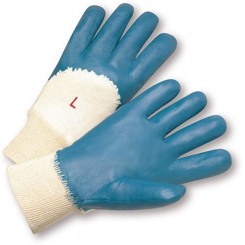 West Chester 4060/XL Lightweight Nitrile Palm Coated Jersey Knit Wrist, XL, Blue (Pack of 12)