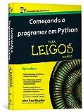 capa de Começando a Programar em Python Para Leigos