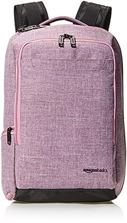 AmazonBasics Slim Carry On Travel Backpack, Purple - Overnight