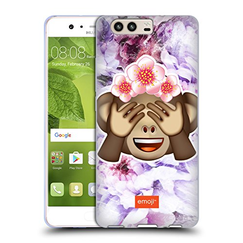 Soft Soles Monkey - Official Emoji Monkey Solos Soft Gel Case for Huawei P10