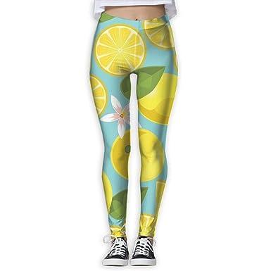 187f0b760ccd3 Amazon.com: shobestag Women's Power Lemon Yoga Pants Tummy Control Workout  Yoga Pants Leggings: Clothing