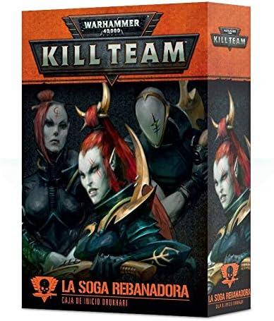 Games Workshop Warhammer 40000 Kill Team - LA SOGA REBANADORA - Caja DE Inicio DRUKHARI: Amazon.es: Juguetes y juegos