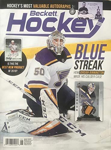 (June 2019 Beckett Hockey Monthly Magazine - Binnington Blues Cover )