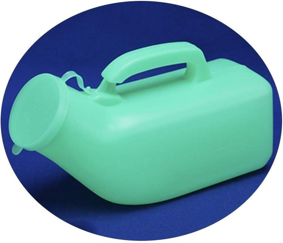 JNY Urinario portátil Urinario Green, 1200 ml Hombres de Urinal, de Gran Capacidad, Botella Liso Boca, cómodo de Usar, Portable Adulto Urinario a Prueba de Fugas Viajes urinario