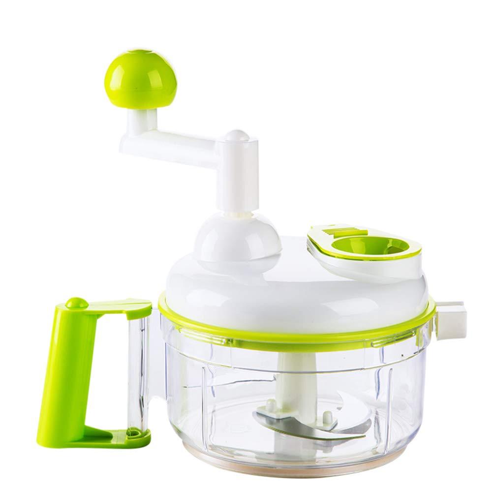DENGSH Vegetable Slicer,Cutter,Multi-Function Kitchen Spiral,Food Cooking Machine,Meat Grinder Manual Safety/As Shown by DENGSH